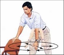 急性肩痛的治療運動 ─ 「鐘擺運 動」 3